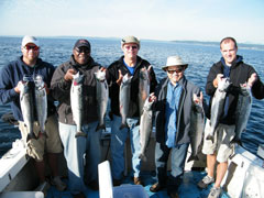 Salmon Fishing Party