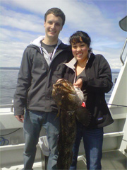 seattle fishing charter - lingcod